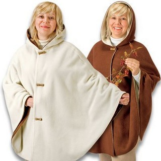 выкройка пальто пончо для полных осень 2012.