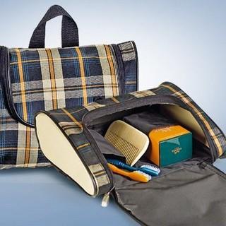 """Набор  """"Шотландская клетка """": сумка на колесиках, сумка с ручками..."""
